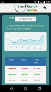 Smart-nrg.es Precio Luz Casa precio medio